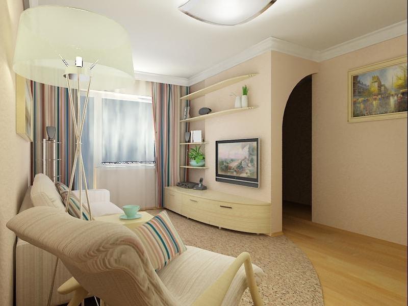 креативный ремонт гостинной 18 кв